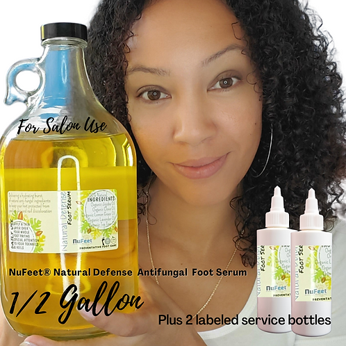 1/2 Gallon of NuFeet ® Natural Defense Antifungal Foot Serum