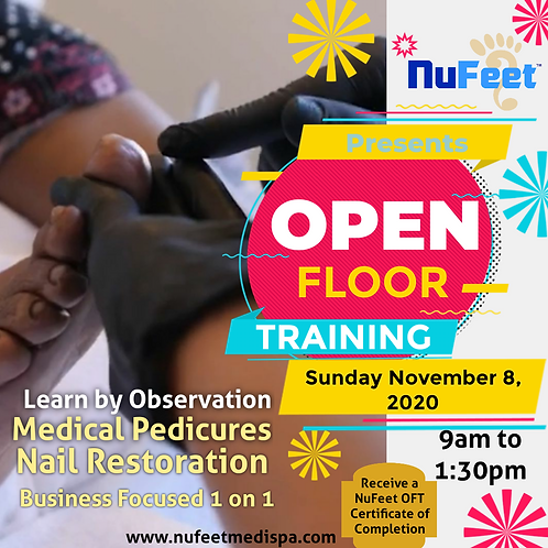 Open Floor Training - 11/8/2020