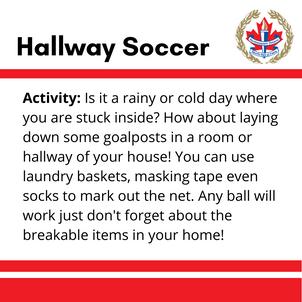 Hallway Soccer