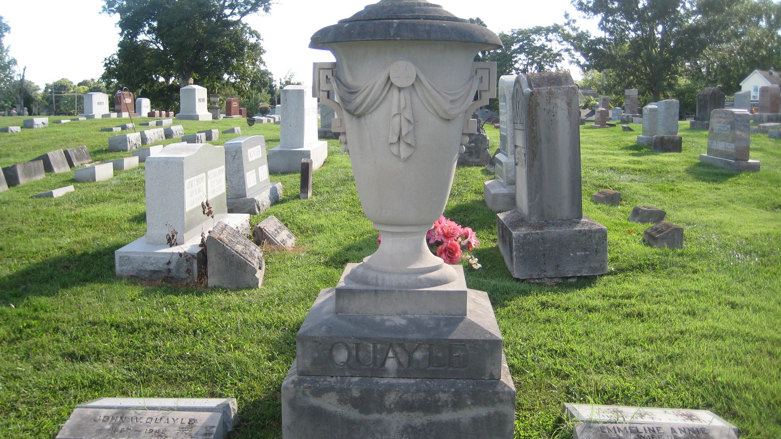 Quayle gravestones