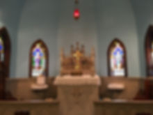 Altar at St. John's of Bedford
