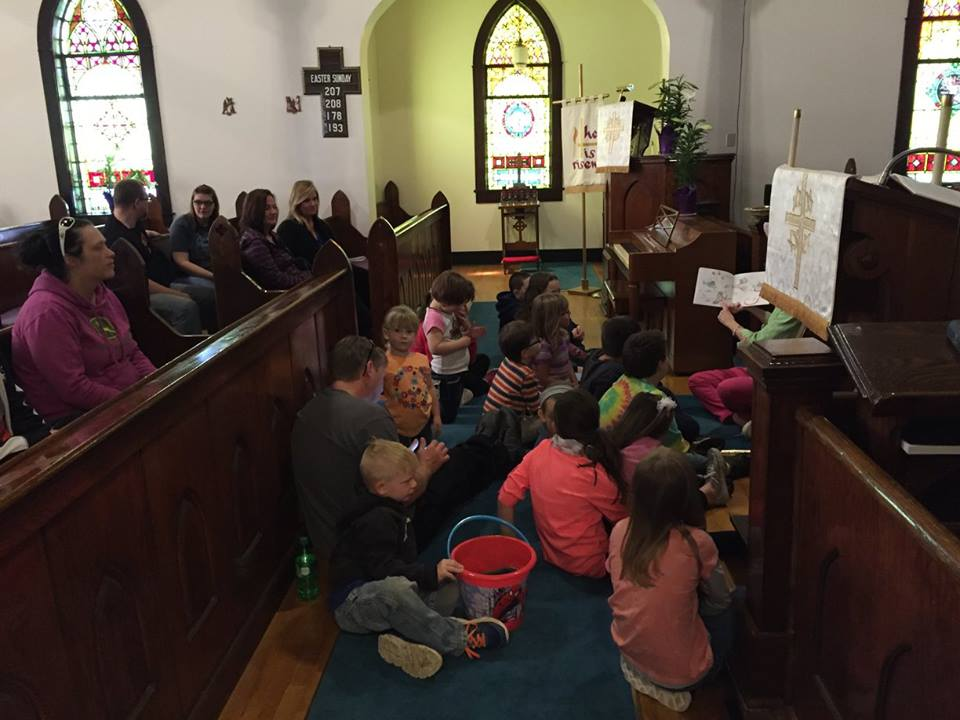 Easter story time