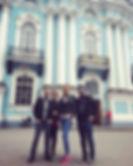 la guía en San Petersburgo