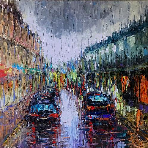 London Rainy Crouch End
