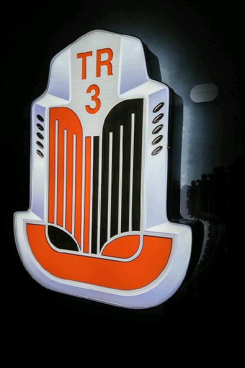 Triumph TR3 L.E.D Light Display Sign
