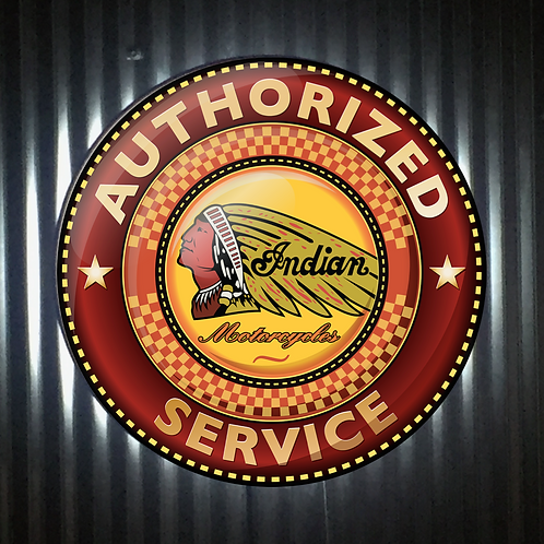 Indian Motorcycle Service L.E.D Display Light