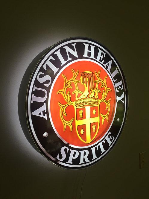 Austin Healey Sprite Crest (Coat of Arms) L.E.D.