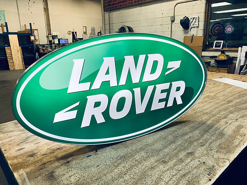 Land Rover L.E.D. Display Sign