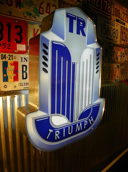 Triumph TR LED Sign Display Light