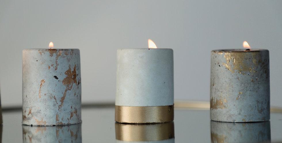 Grapefruit Mangosteen - Mini Concrete Candle