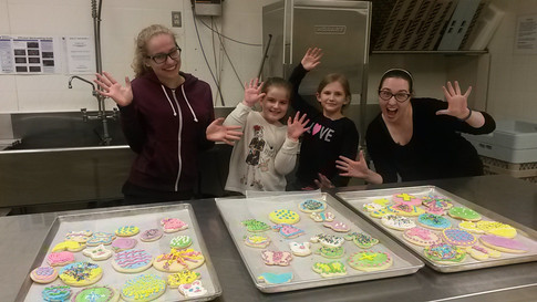 Easter cookie decorating 2017