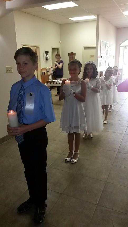 First Solemn Communion 2017