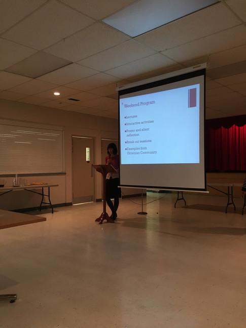 Parish Youth Breakfast 2018 - Social Mission Group Presentation