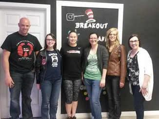 Checking out Breakout Edmonton