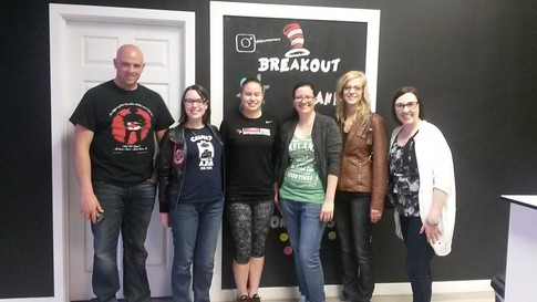 Young adult breakout night