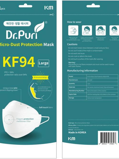 KF94 mask - 100 pcs (Made in Korea)