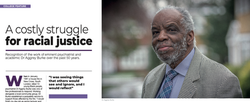 A costly struggle for racial justice