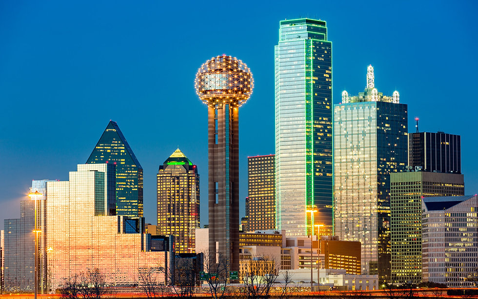 Dallas-Reunion-Tower-skyline-at-night-Ci