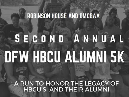 2nd Annual DFW HBCU Alumni 5k