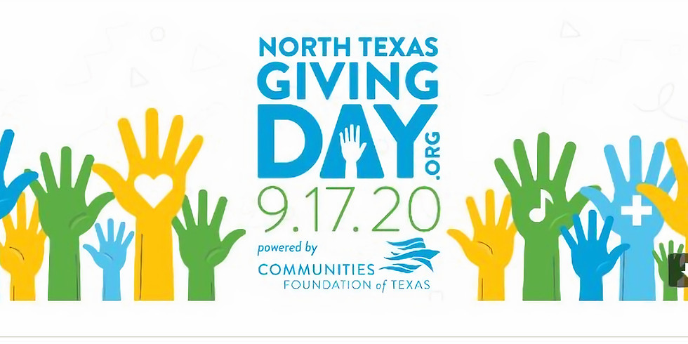 DMCBAA - North TX Giving Day Fundraiser Support