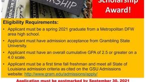 2021 Doris Robinson Scholarship