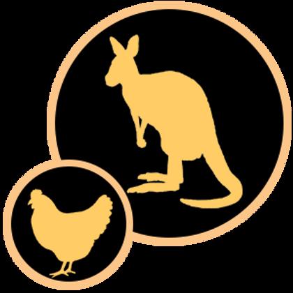 Kangaroo & Chicken 200gm