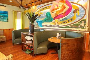 Mermaid Mural in Pineapple Jacks Bistro dinning room