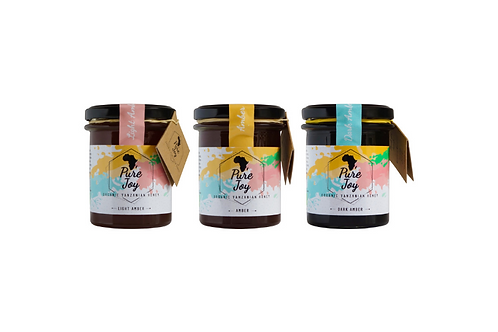 Organic Honey Trio Gift Pack