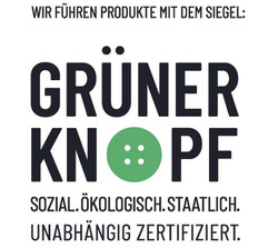 wir führen_Grüner Knopf Logo