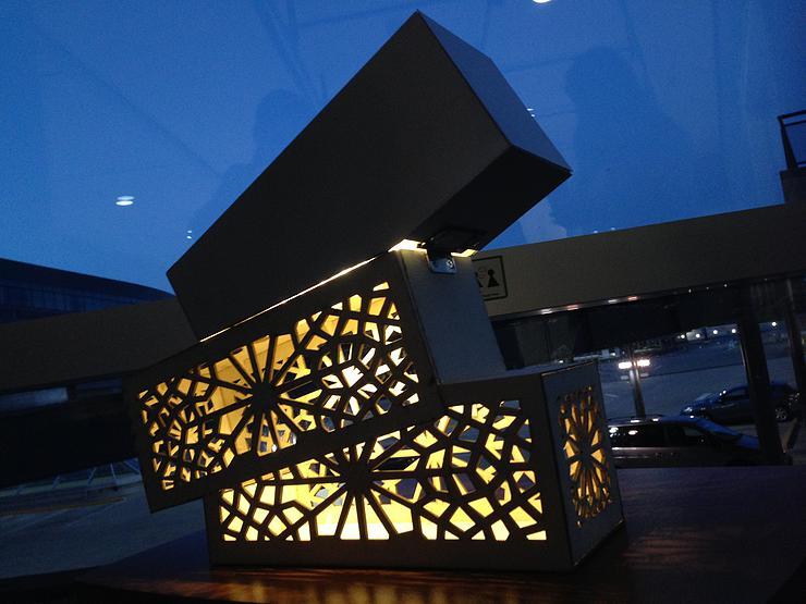 High Fidelity Prototype:Lattice Lamp