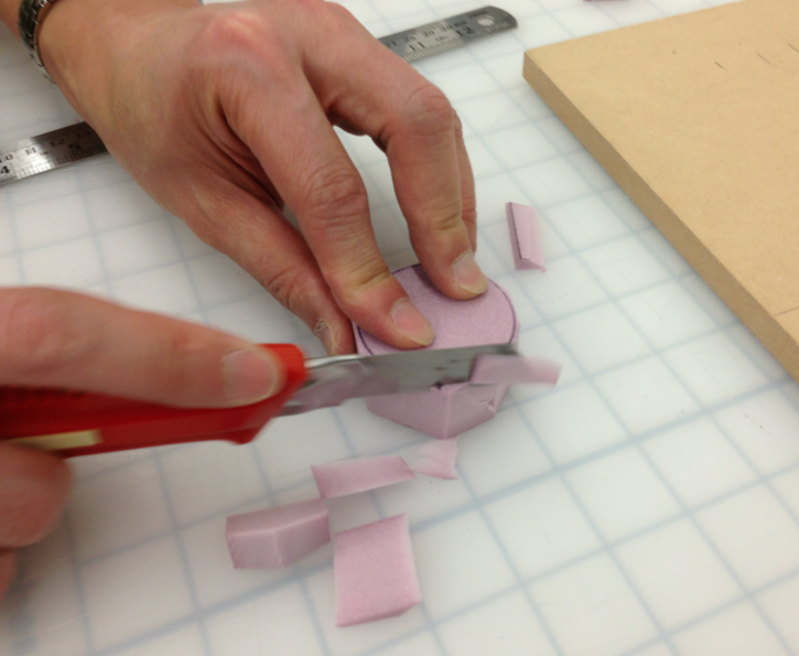 Low Fidelity Prototyping: Foam