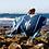 Thumbnail: Yoga Blanket -  Aztec Thunderbird