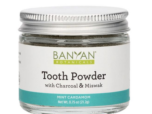 Ayurvedic Tooth Powder with Charcoal & Miswak