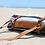 Thumbnail: Vegan Leather Yoga Mat Carrier / Blanket Strap