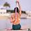 Thumbnail: 8' Cotton Yoga Strap