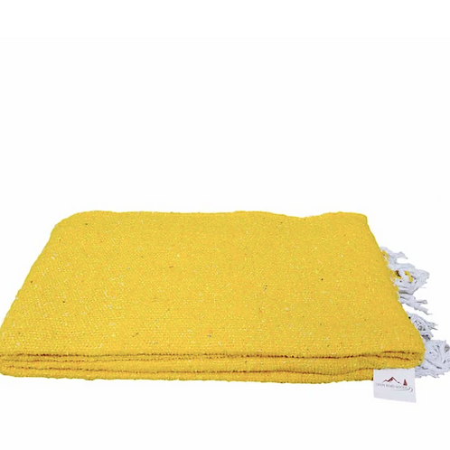 Yoga Blanket - Solid Yellow