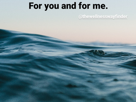 allow & receive. for you & for me.