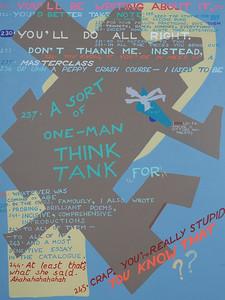 Image descriptions, 2 - [One Man Think Thank]
