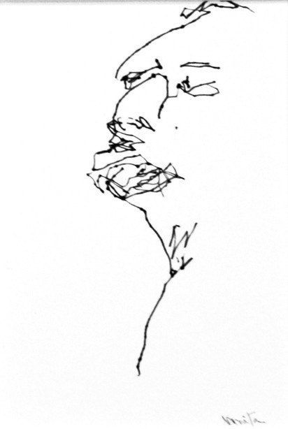Untitled from the series Algum Desenho