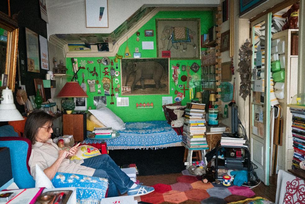 Ana Jotta at home
