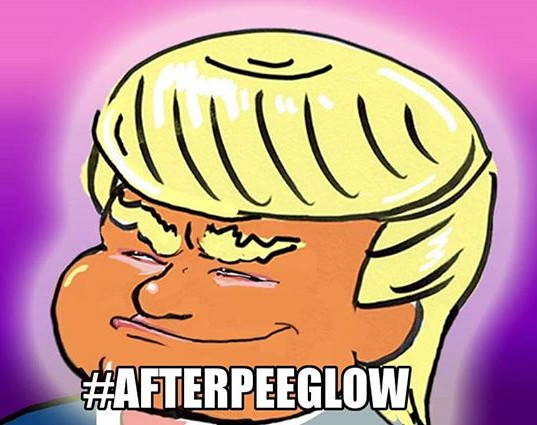 So much for the afterglow__#afterpeeglow