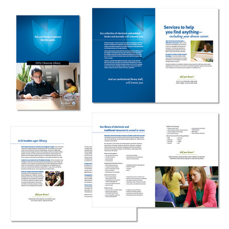 DeVry University- Library Brochure