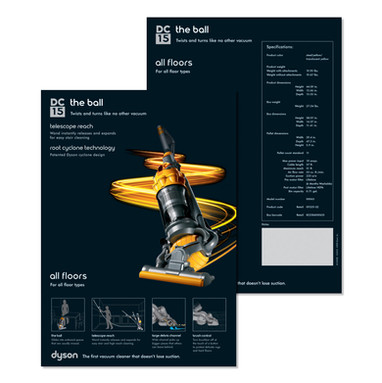 DC15 Launch: Training Spec Sheet
