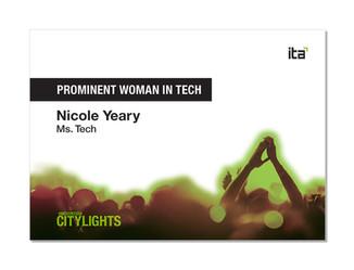 ITA CityLights Awards- Winner Card