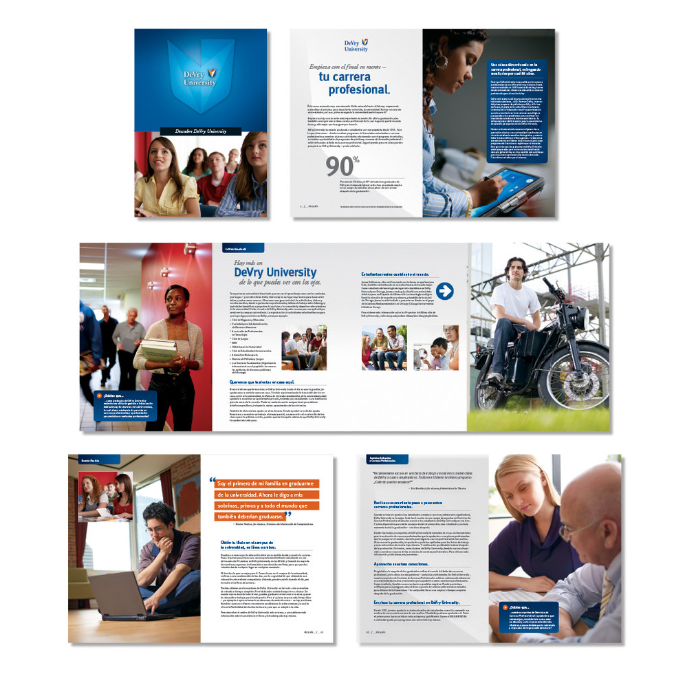 DeVry University- Spanish Brochure