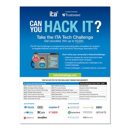 ITA Tech Challenge- Flyer