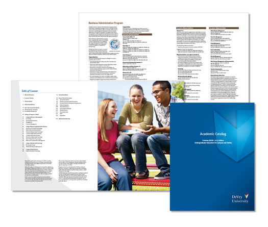 DeVry University- Academic Catalog