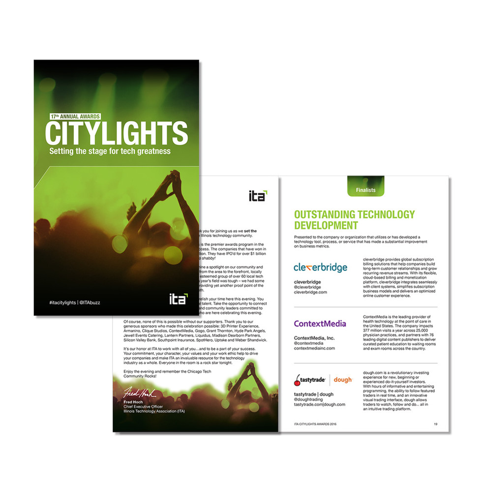 ITA CityLights Awards- Program