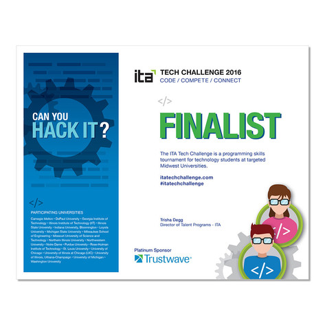 ITA Tech Challenge- Certificate