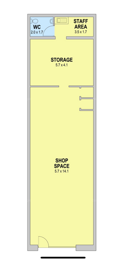 Dance studio - Floor Plan